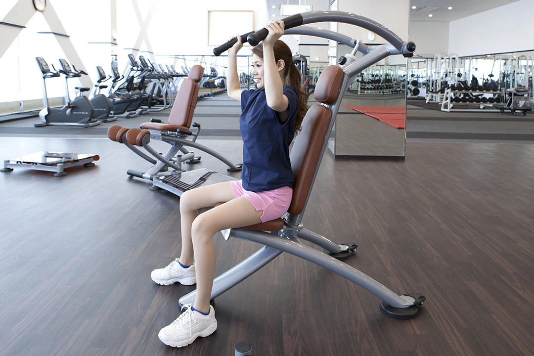 SHOULDER PRESS (SHOULDER, ARM)