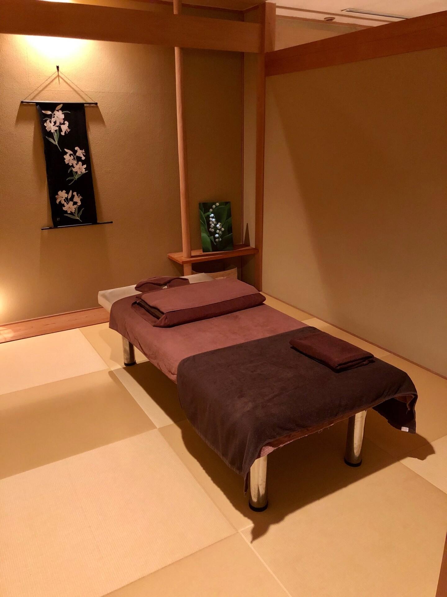 畳の個室空間