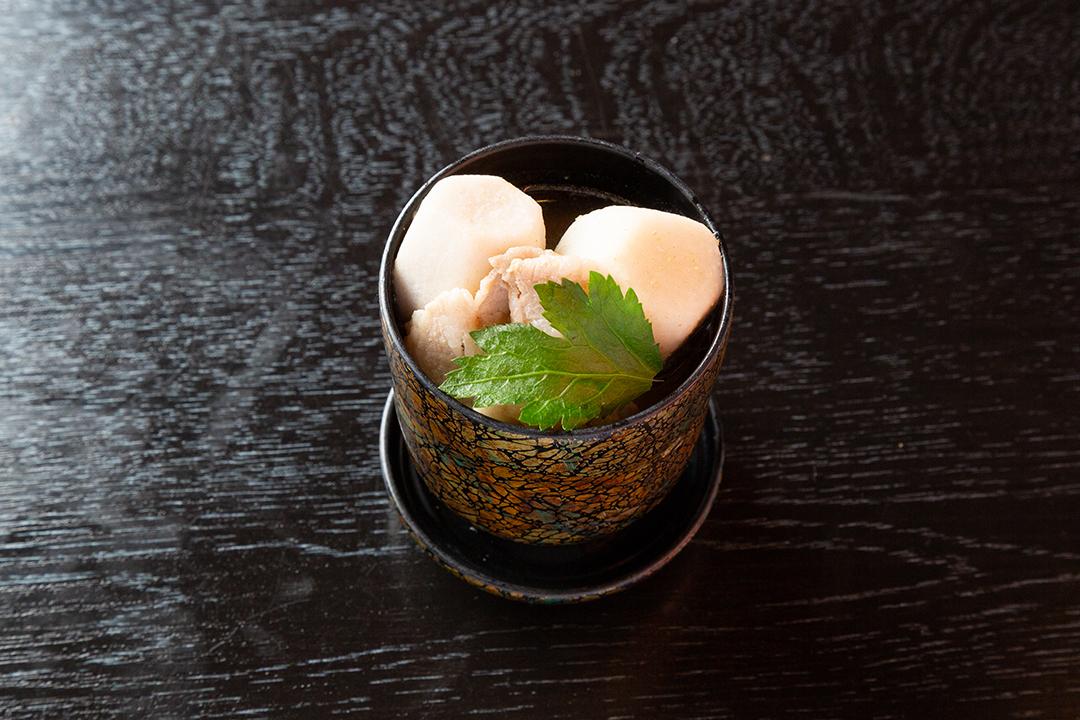 留め椀 芋の子味噌